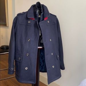 Navy blue Coat for 12year/150cm